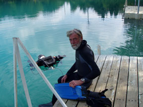 PADI Master Instructor - In Memory of Larry Baldwin 1952-2007